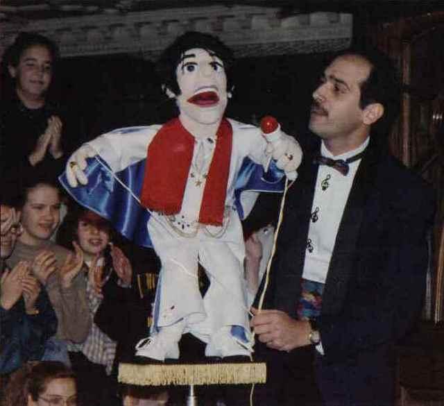 Bob Abdou As Mr Puppet
